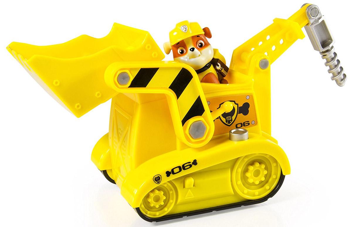 Paw Patrol Набор фигурок Pup-Fu Rubble's Diggin' Bulldozer
