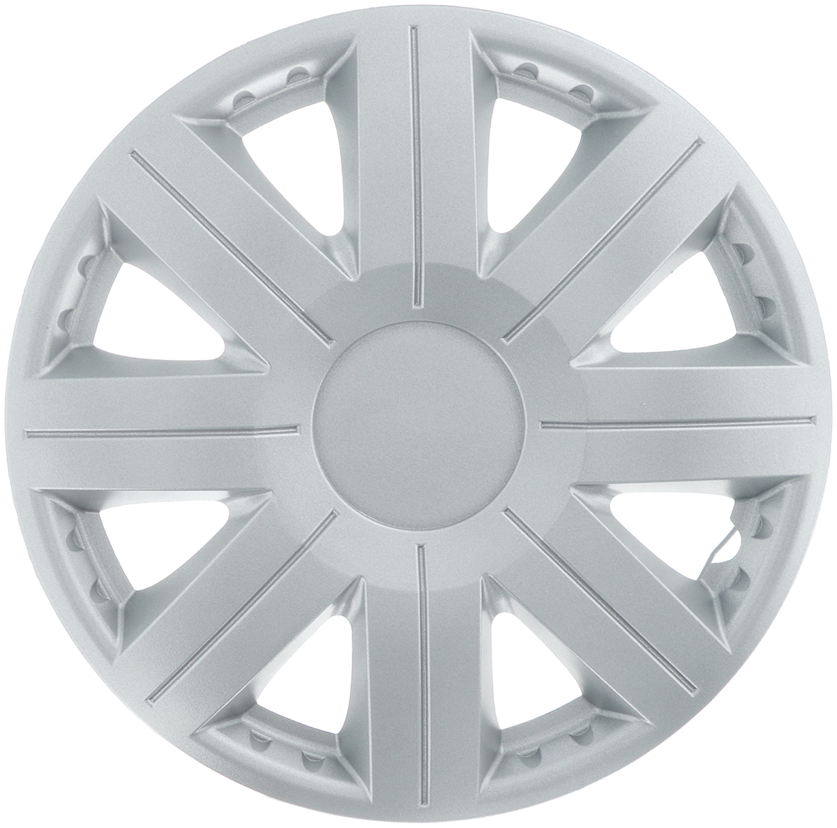 Колпак защитный Phantom Космос, R13 , декоративный, 1 шт. PH5757PH5757Колпак Phantom Космос предназначен для защиты колесного диска и тормозной системы от загрязнений, а также для декоративного украшения автомобиля.Колпак изготовлен из высококачественного масло-бензостойкого пластика, а крепление в виде распорного кольца - из металла.Размер колеса: R13.Диаметр колпака: 37 см.