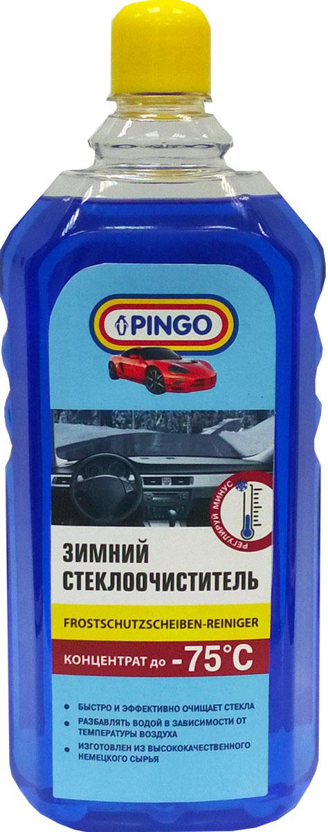 Автостеклоочиститель зимний Pingo, -70°С, 1 л75075-1Автостеклоочиститель Pingo быстро и эффективно очищает стекла от грязи и солевого налета. Не оставляет разводов и мутной пленки. Экономичен благодаря высокой чистящей способности. Не повреждает лакокрасочное покрытие, пластик и резину.Предназначен для очистки стекол и фар автотранспорта при температуре воздуха не ниже -70°С. Состав: деионизированная вода, пропан-2-ол, этиленгликоль, ПАВ (Товар сертифицирован.