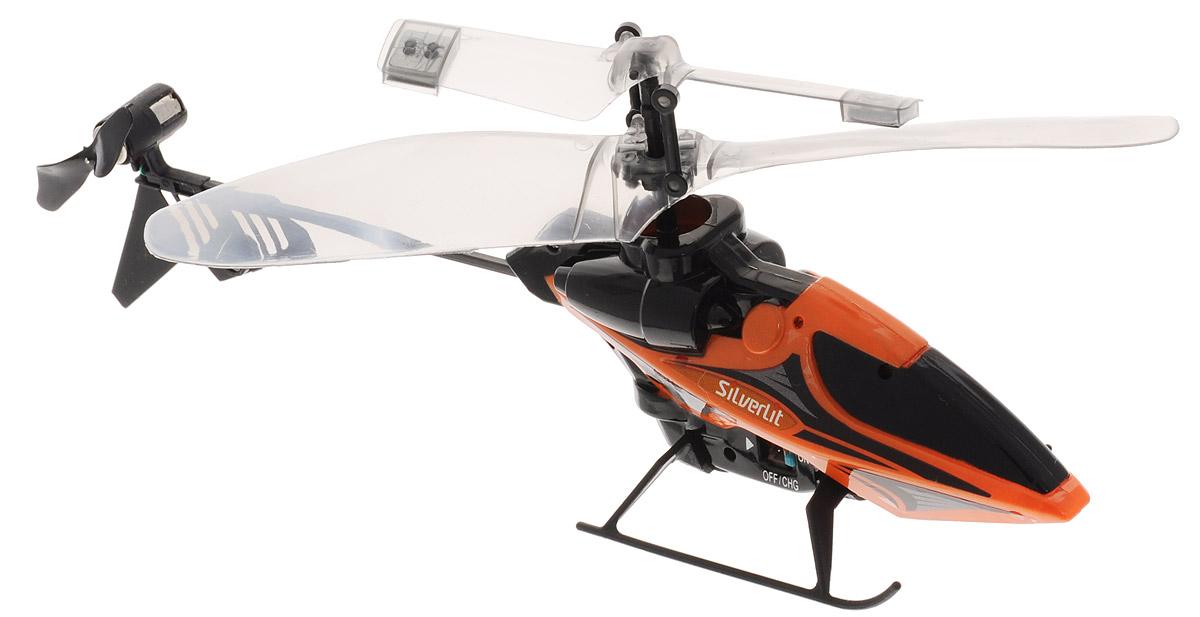 Silverlit Вертолет на инфракрасном управлении цвет оранжевый черный вертолет sky dragon silverlit