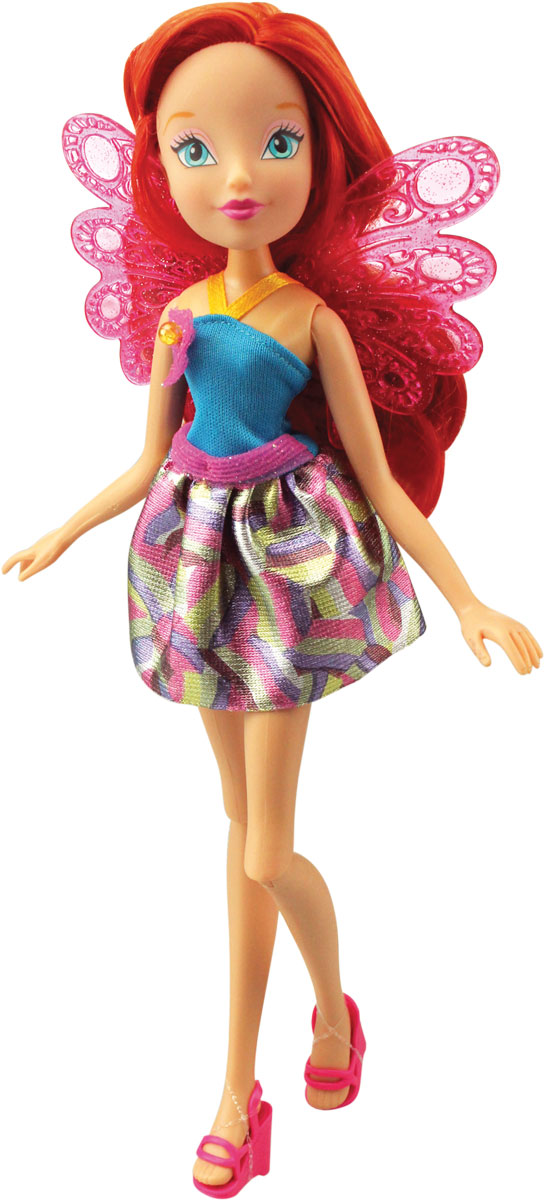 Winx Club Кукла Волшебный питомец Bloom куклы winx кукла winx club волшебное платье bloom