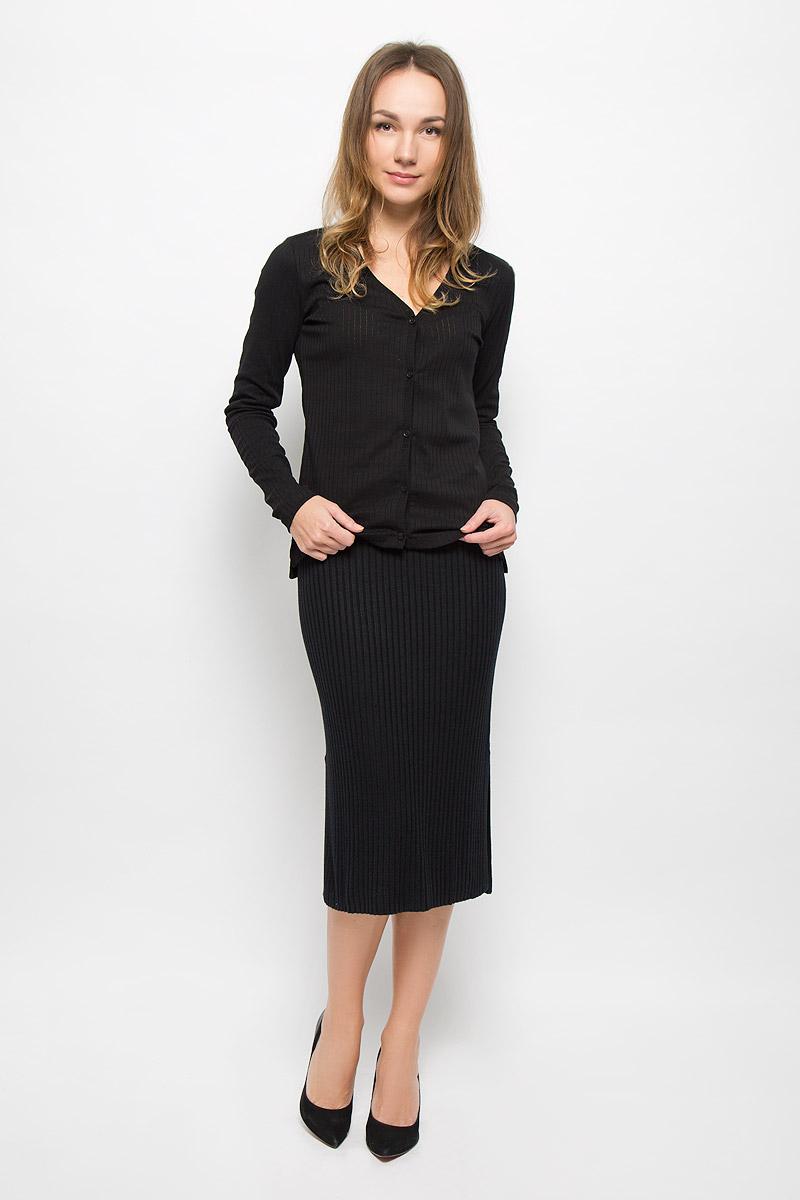 Джемпер женский Tom Tailor Denim, цвет: черный. 1036297.00.71_2999. Размер XL (50) джемпер мужской tom tailor denim цвет бордовый 3022104 01 12 4257 размер xl 52