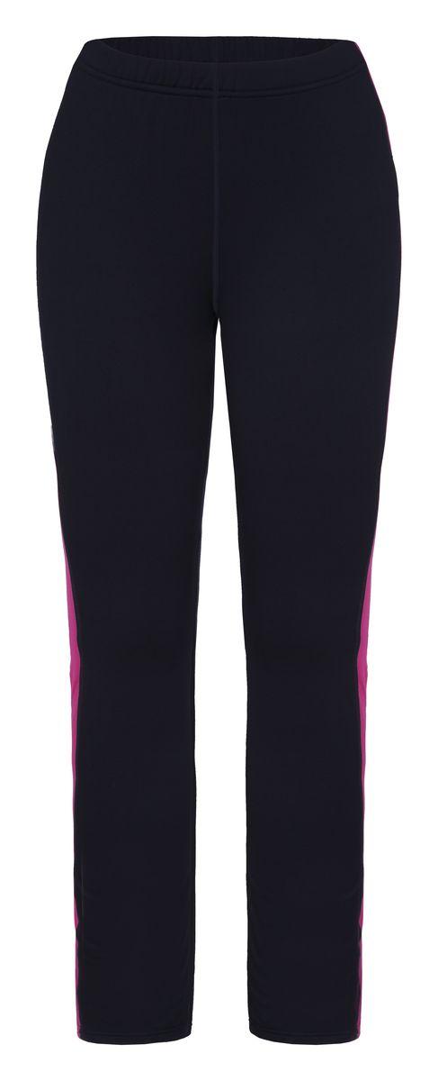 Брюки женские Icepeak Riley, цвет: темно-синий, фуксия. 654013584IV. Размер 36 (42)654013584IVЖенские брюки Icepeak Riley выполнены из полиэстера с добавлением эластана. Материал выполнен при помощи технологий Cooltech и Thermostretch. Такие технологии обеспечивают высокую влаговыводимость и оставляют тело сухим, а также позволяют коже дышать тем самым обеспечивая вам наибольший комфорт. Модель по поясу дополнена эластичной резинкой. Брюки оформлены вставками контрастного цвета и светоотражающей термоаппликацией в виде названия бренда.