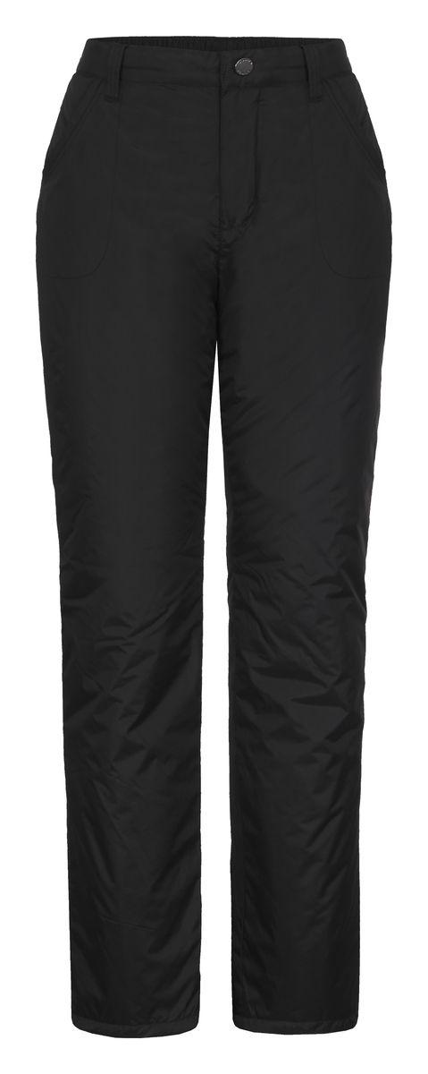 Брюки женские Luhta Saija, цвет: черный. 636707355LV. Размер 44 (50)636707355LVЖенские брюки от Luhta выполнены из полиэстера и утеплены синтепоном. Модель застегивается на пуговицу и крючок в талии и ширинку на молнии, имеются шлевки для ремня. Спереди брюки дополнены двумя врезными карманами. Низ брючин дополнен утяжками со стопперами.