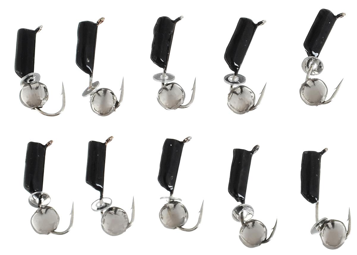 Мормышка вольфрамовая True Weight Гвоздешарик, гвоздик диаметр 2 мм, 10 шт. 4964649646Набор True Weight Гвоздешарик выполнен из металла. Мормышка - это популярный вид приманок для подледной ловли. Изделия оснащены крючками и имеют массу вариантов оснащения. Среди них есть популярный в последнее время и сверх уловистый шарик кошачий глаз, с 2015 года производитель предлагает к продаже гвоздекубики, которые проявляют себя эффективно при ловле плотвы и окуня. Столбики мормышек имеют лакокрасочное высококачественное покрытие. Комплектация: 10 шт.