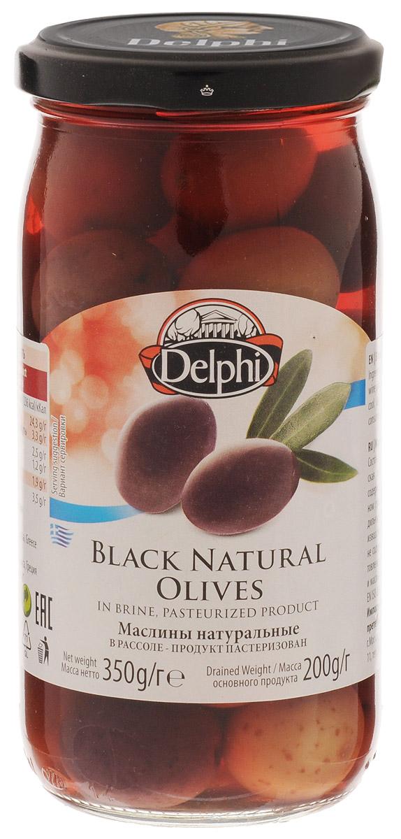 Delphi Маслины с косточкой натуральные в рассоле, 350 г delphi маслины с косточкой натуральные в рассоле 350 г