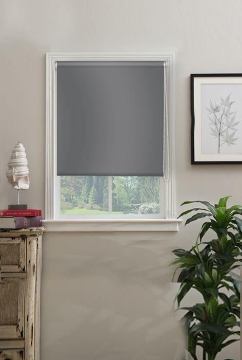 Штора рулонная Эскар Миниролло. Blackout, светонепроницаемые, цвет: серый, ширина 62 см, высота 170 см34020062170Рулонная штора Эскар Миниролло. Blackout выполнена из высокопрочной ткани, не пропускающей солнечный свет. Такие шторы изготовляютсяиз полностью светонепроницаемого материала blackout. Это свойствообеспечивается структурой ткани и специальными вплетенными нитями, удерживающими проникновение света.- Используются в кинотеатрах, фотолабораториях, детских комнатах и других помещениях, где необходимо абсолютное затемнение;- Удобны в уходе и эксплуатации.Миниролло - это подвид рулонных штор, который закрывает не весь оконный проем, а непосредственно само стекло. Такие шторы крепятся на раму без сверления при помощи зажимов или клейкой двухсторонней ленты. Окно остается на гарантии, благодаря монтажу без сверления.