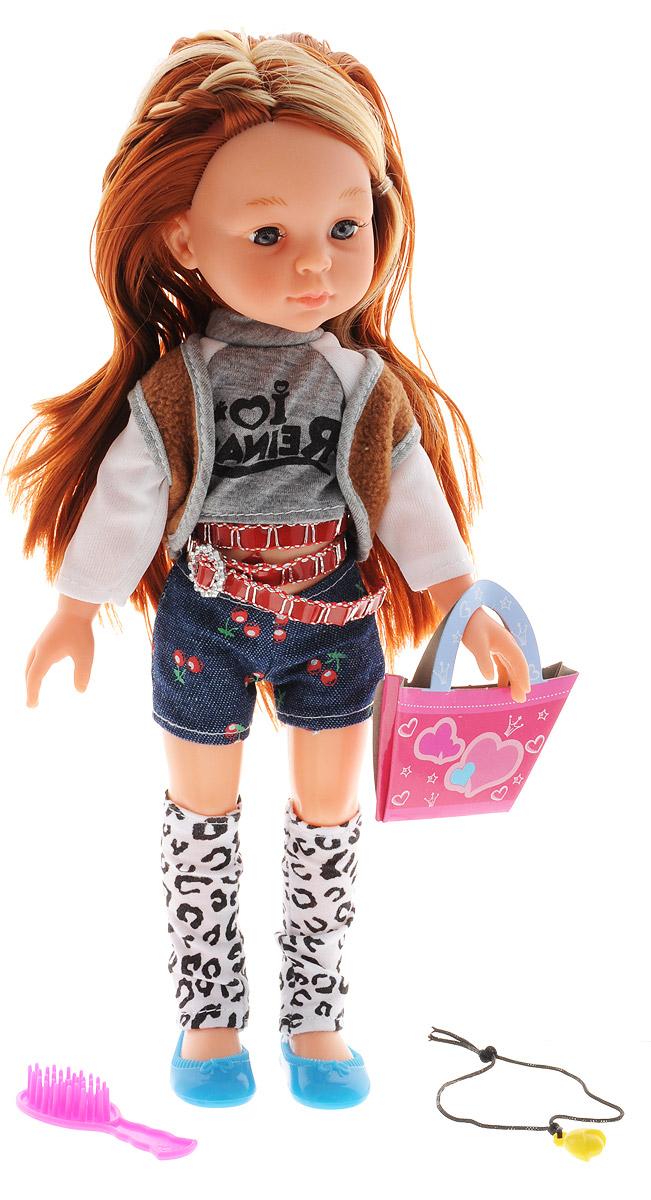 ABtoys Кукла Модница в шортах abtoys со стрелами на присосках
