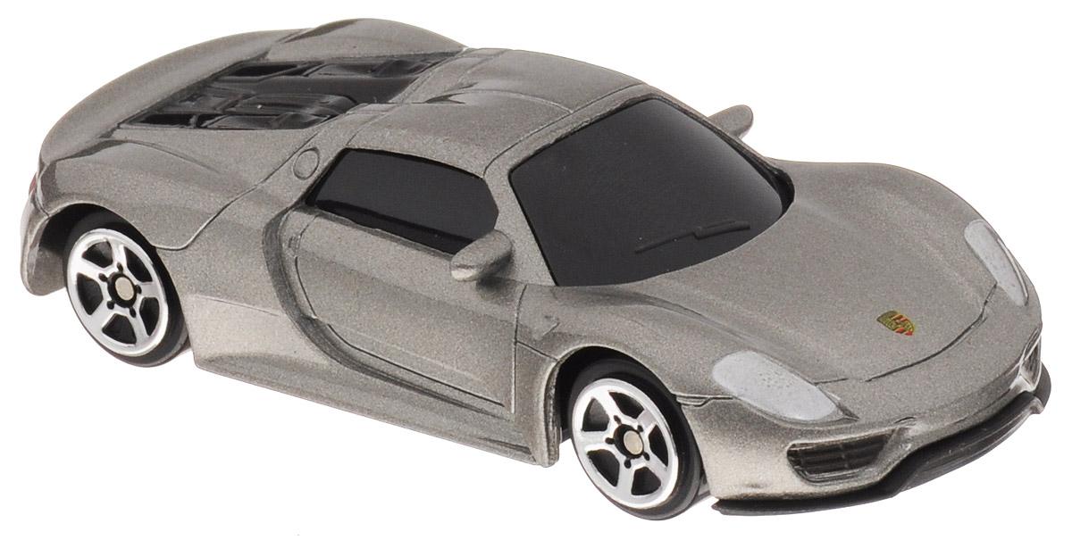 Uni-FortuneToys Модель автомобиля Porsche 918 Spyder цвет серебристый