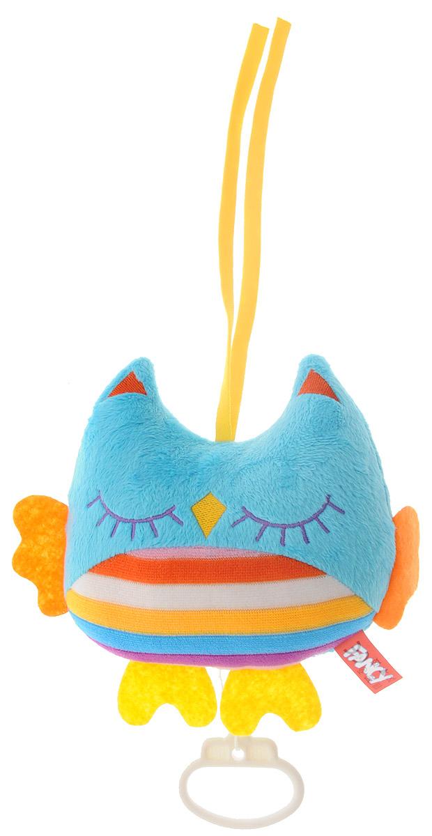 Fancy Музыкальная игрушка-подвеска Совушка музыкальная подвеска на кроватку chicco чико спокойной ночи цвет розовый