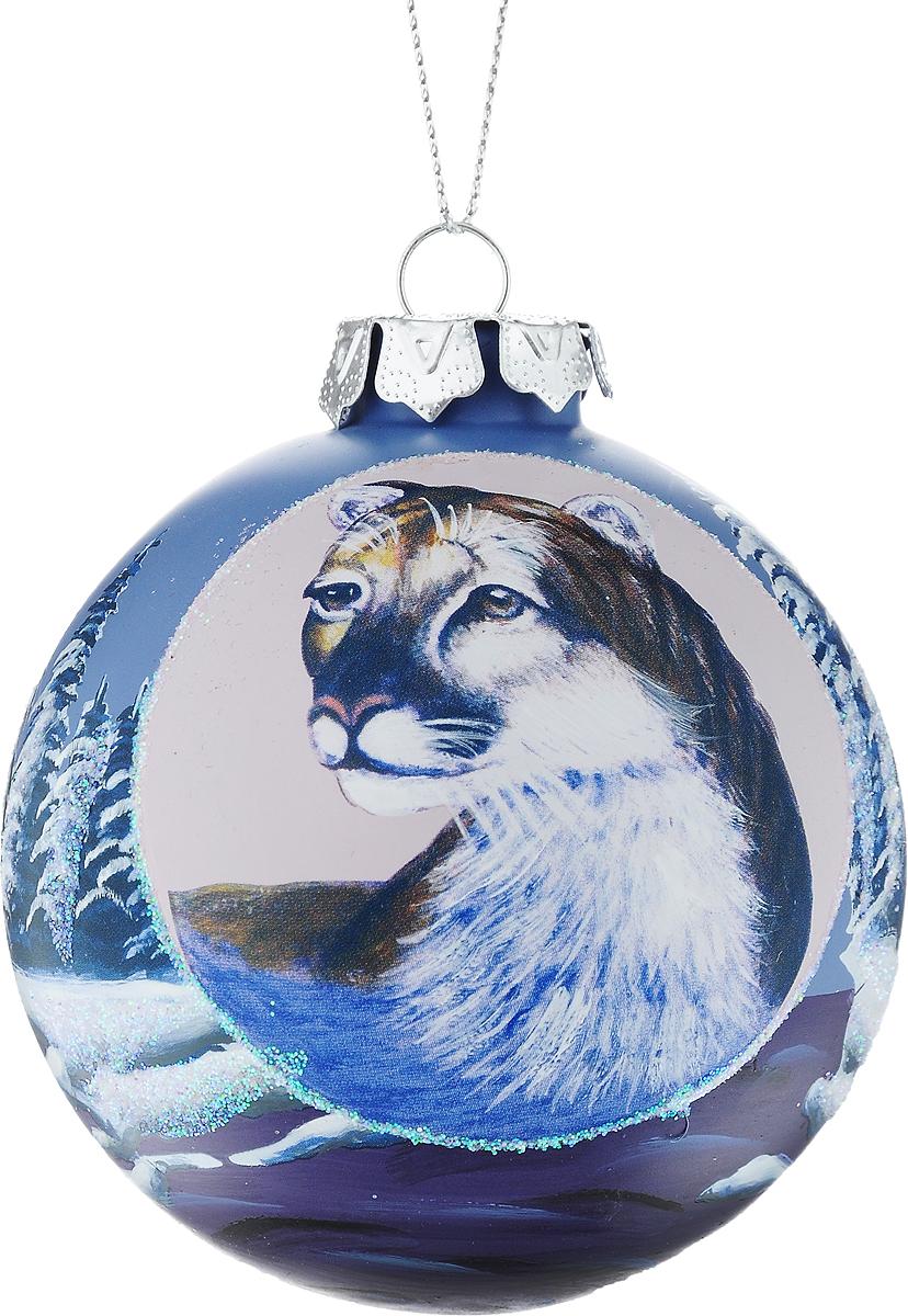 Украшение новогоднее подвесное Winter Wings Шар, диаметр 8 см. N07926N07926Новогоднее подвесное украшение Winter Wings Шар выполнено из стекла в виде шара и украшено блестками. С помощью специальной петельки украшение можно повесить в любом понравившемся вам месте. Но, конечно, удачнее всего оно будет смотреться на праздничной елке.Елочная игрушка - символ Нового года. Она несет в себе волшебство и красоту праздника. Создайте в своем доме атмосферу веселья и радости, украшая новогоднюю елку нарядными игрушками, которые будут из года в год накапливать теплоту воспоминаний.