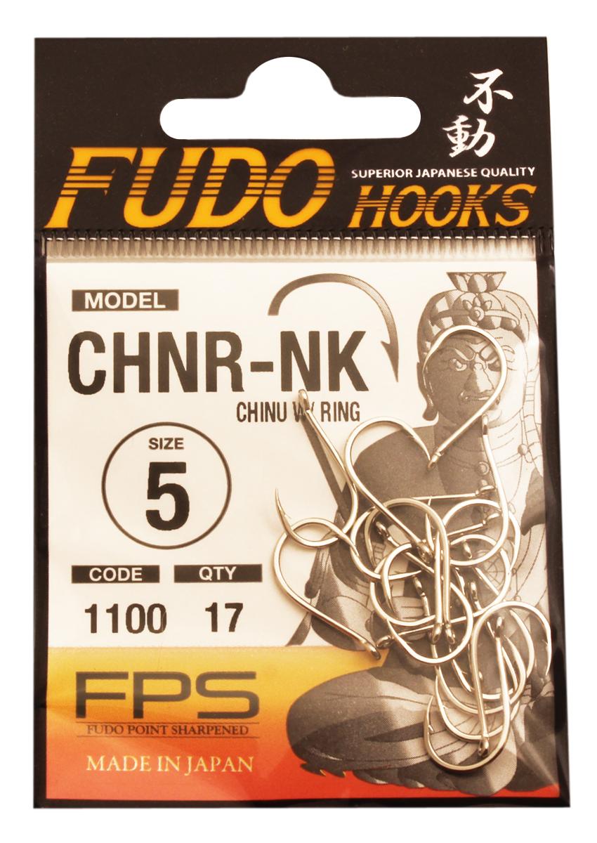 Крючок Fudo Chinu W/Ring, №5, 17 шт13718Рыболовные крючки Крючок Fudo Chinu W/Ring являют собой сочетание лучших материалов, лучших технологий и наилучших человеческих навыков. Основными характеристиками крючков являются : оптимальная форма с точки зрения максимального улова, экстремальная заточка крюка, которая сохраняется при длительной ловле, отличная эластичность, что позволяет им противостоять деформации, общая коррозионная стойкость в процессе производства, благодаря нескольким патентам в области металлургии и производства техники. Крючок выполнен из стали с управляемым содержанием углерода. Крючок подвергается двум различным методом для заточки: механическим и химическим. Прочность крючка реализуется через печи, где система компьютерной помощи регулирования температуры позволяет достичь точности в производстве в 0,01°C и времени обработки с точностью 0,001 секунды. В результате крючки получаются абсолютно закаленными, что позволяет добиться отличного результата по твердости и эластичности, а также крючки обладают антикоррозионным покрытием. Место крепления крюка с леской, выполнено в виде кольца. Жало изогнуто.