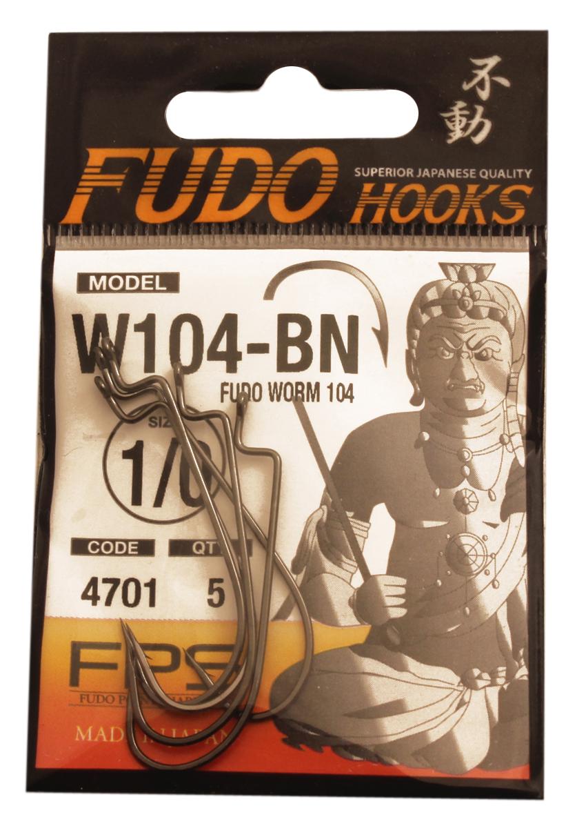 Крючок Fudo Worm, №1/0, 5 шт30066Рыболовные крючки Крючок Fudo Worm являют собой сочетание лучших материалов, лучших технологий и наилучших человеческих навыков. Основными характеристиками крючков являются оптимальная форма с точки зрения максимального улова, экстремальный заточка крюка, которая сохраняется при длительной ловле, отличная эластичность, что позволяет им противостоять деформации, общая коррозионная стойкость в процессе производства. Сталь с управляемым содержания углерода - это те материалы, которые применяются в производстве крючков.Прочность крючка реализуется через печи, где система компьютерной помощи регулирования температуры, позволяет достичь точности в производстве в 0,01°С, и времени обработки с точностью 0,001 секунды. В результате крючки получаются абсолютно закаленными, что позволяет добиться отличного результата по твердости и эластичность, а также все модели крючков обладают антикоррозионным покрытием.