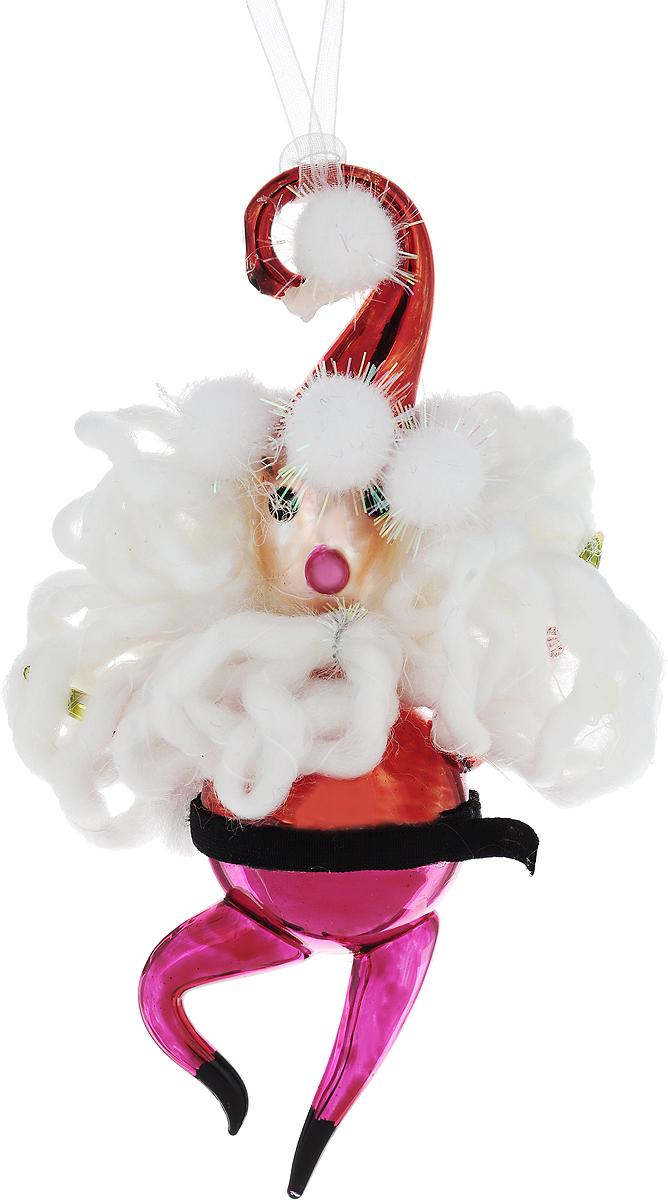 Украшение новогоднее подвесное Winter Wings Дед Мороз, высота 15 см украшение подвесное weiste дед мороз цвет красный 3 шт