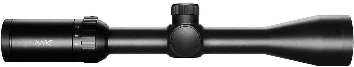 Прицел оптический Hawke Vantage 3-9x40 (Mil Dot)6585Дневной оптический прицел Hawke Vantage предназначен для стрельбы на малых и средних дистанциях. Монолитный корпус, выполненный из высококачественного алюминия, защищен от воды и атмосферных осадков, выдерживает отдачу от пневматического и крупнокалиберного огнестрельного оружия. Moдeль кoмплeктyeтcя ceткoй Міl-Dоt клaccичecкoгo дизaйнa. Диаметр объектива: 40 мм. Увеличение: 3-9 крат. Поле зрения: 7,4-2,4°. Поле зрения: 13-4,2 м/100 м. Диаметр выходного зрачка: 13-4,4 мм. Удаление выходного зрачка: 89 мм. Максимальная регулировка (МОА): 100. Дистанция без параллакса: от 10 м до бесконечности. Цена клика: 1/4 МОА. Шаг выверки: 7 мм/100 м. Длина: 31,5 см. Посадочный диаметр крепления: 25,4 мм.
