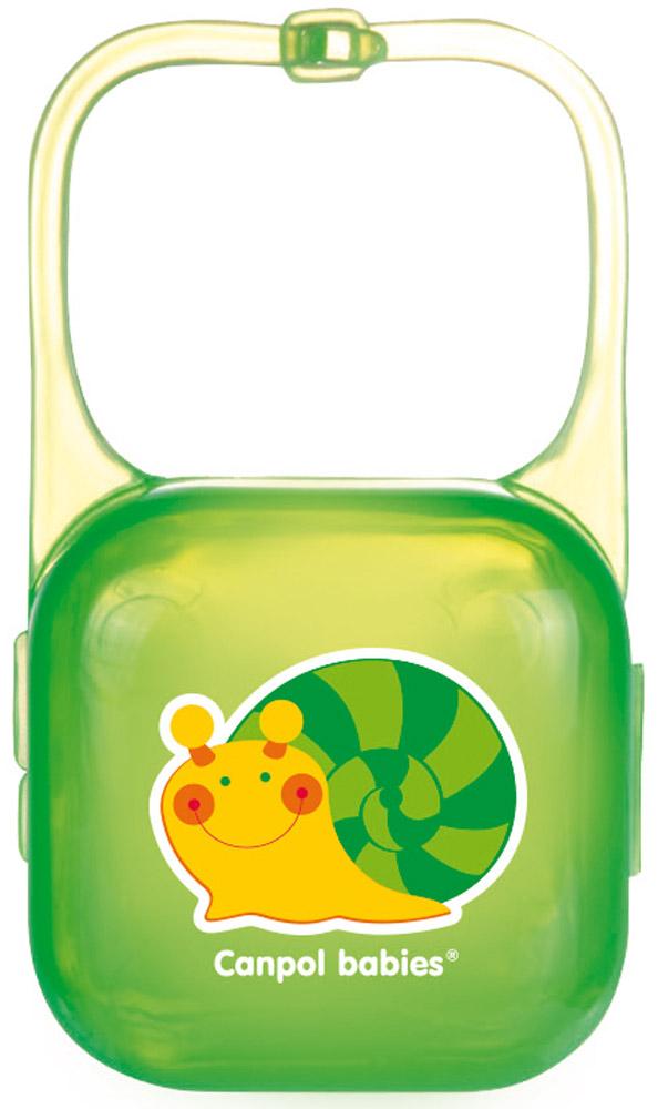 Canpol Babies Футляр для пустышки цвет зеленый