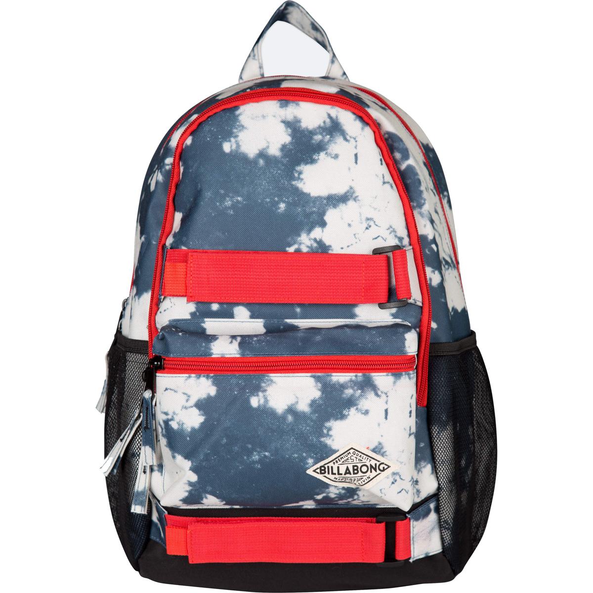Рюкзак городской Billabong Crew, цвет: белый, синий, 20 л