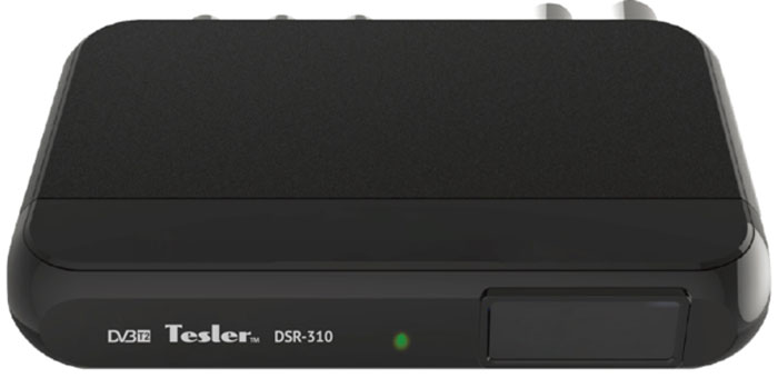 Tesler DSR-310 цифровой телевизионный ресивер DVB-T/T2 цена и фото