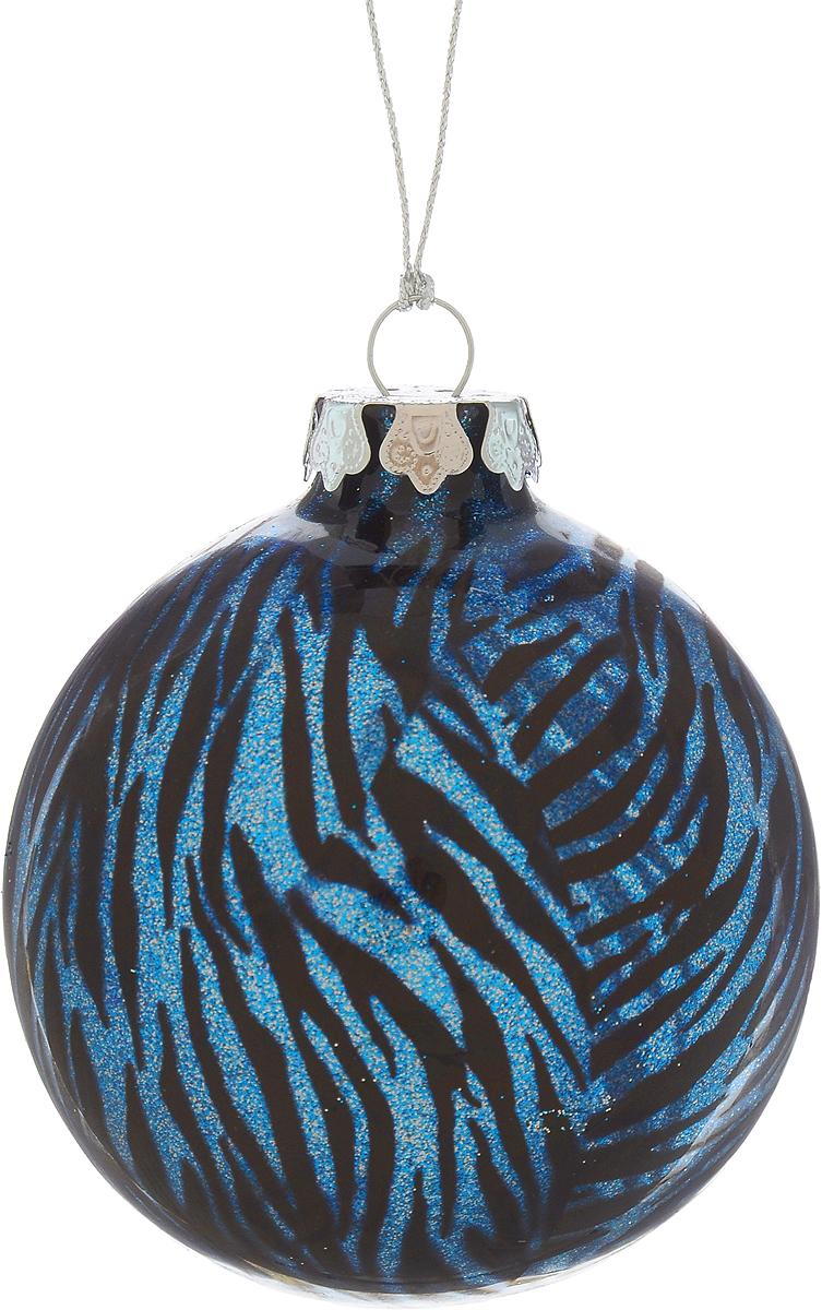 Украшение новогоднее подвесное Winter Wings Шар, диаметр 8 см. N07921N07921Новогоднее подвесное украшение Winter Wings Шар выполнено из стекла в виде шара и украшено блестками. С помощью специальной петельки украшение можно повесить в любом понравившемся вам месте. Но, конечно, удачнее всего оно будет смотреться на праздничной елке.Елочная игрушка - символ Нового года. Она несет в себе волшебство и красоту праздника. Создайте в своем доме атмосферу веселья и радости, украшая новогоднюю елку нарядными игрушками, которые будут из года в год накапливать теплоту воспоминаний.