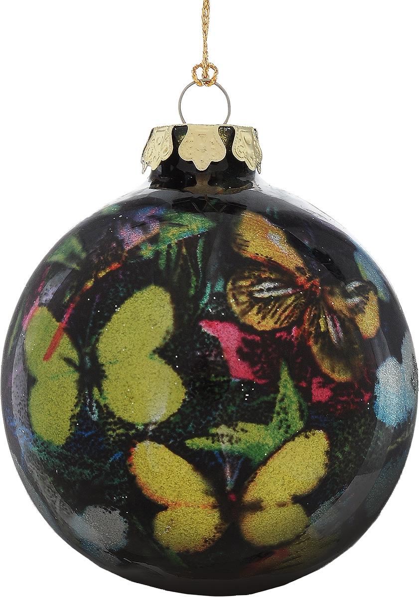 Украшение новогоднее подвесное Winter Wings Шар, диаметр 8 см. N079109N079109Новогоднее подвесное украшение Winter Wings Шар выполнено из стекла в виде шара и украшено блестками. С помощью специальной петельки украшение можно повесить в любом понравившемся вам месте. Но, конечно, удачнее всего оно будет смотреться на праздничной елке.Елочная игрушка - символ Нового года. Она несет в себе волшебство и красоту праздника. Создайте в своем доме атмосферу веселья и радости, украшая новогоднюю елку нарядными игрушками, которые будут из года в год накапливать теплоту воспоминаний.