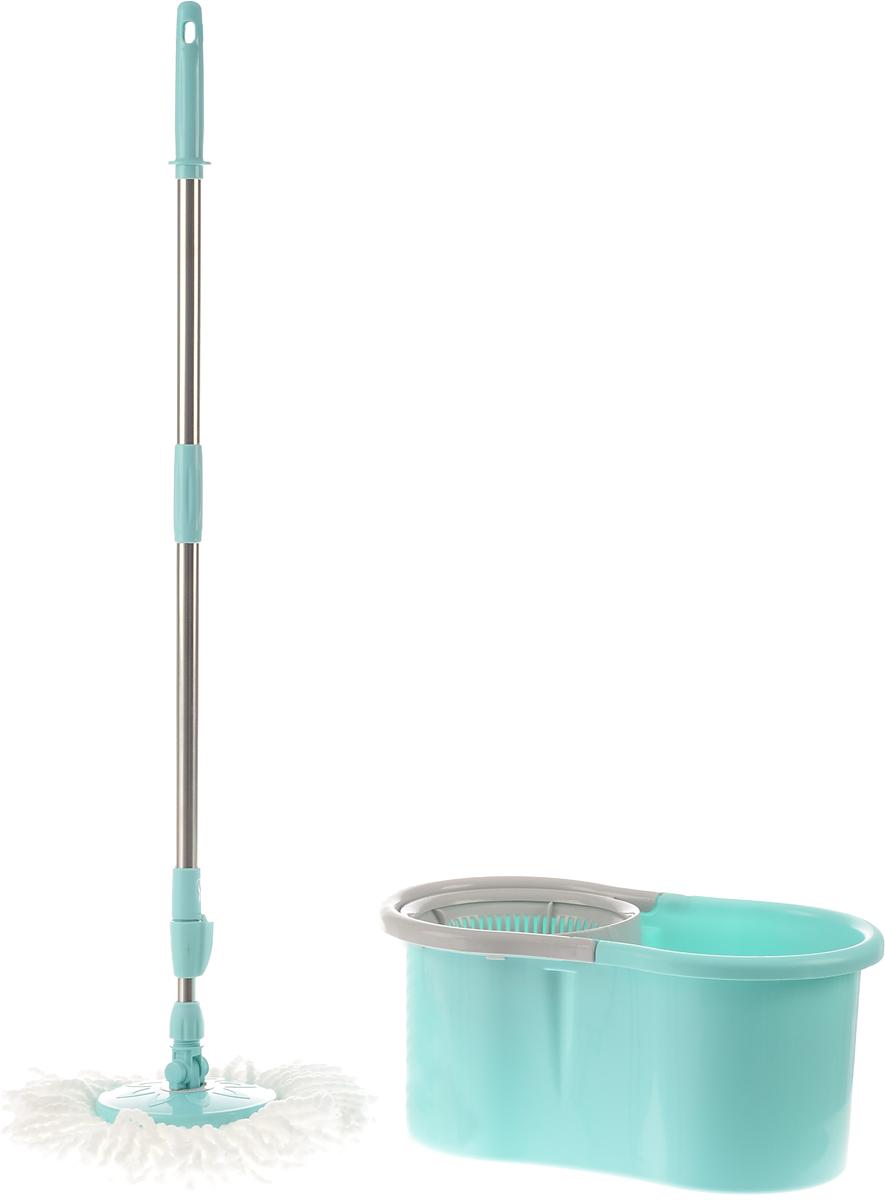 Набор для уборки You'll love: ведро с отжимом, швабра швабра для мытья пола soft touch light твист с отжимом