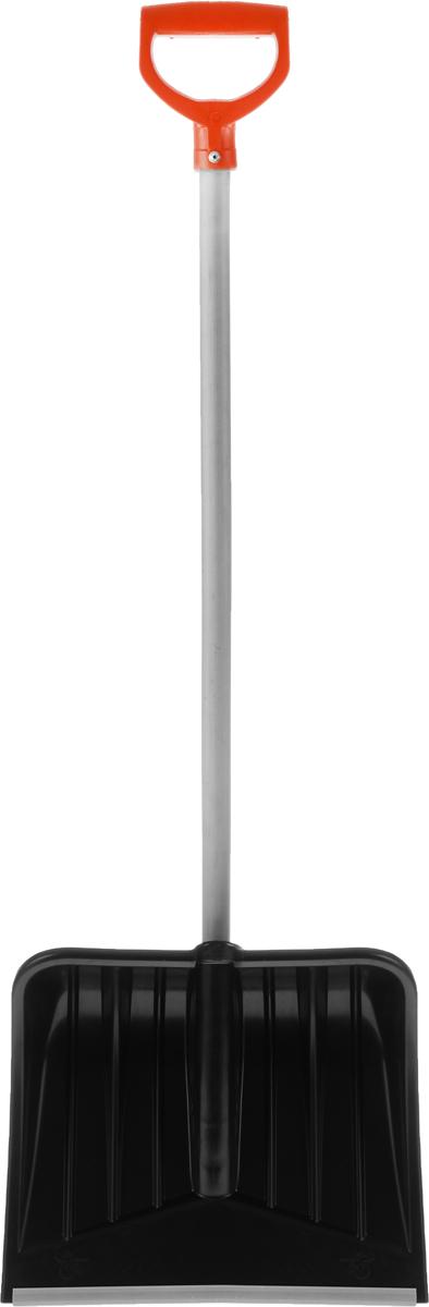 Лопата для снега Ingreen Yeti, c черенком, цвет: черный, серый, оранжевый, длина 127 смING30002ЧРЛопата Ingreen Yeti предназначена для чистки дорожек и уборки любых видов снега: свежевыпавшего рыхлого снега, насыщенного влагой снега и больших сугробов. Выполнена из высококачественного, морозостойкого материала. Лопата снабжена алюминиевой кромкой и гладким деревянным черенком с удобной пластиковой ручкой.Длина лопаты (с учетом ручки): 127 см.Размер рабочей части: 37,5 х 41,5 см.