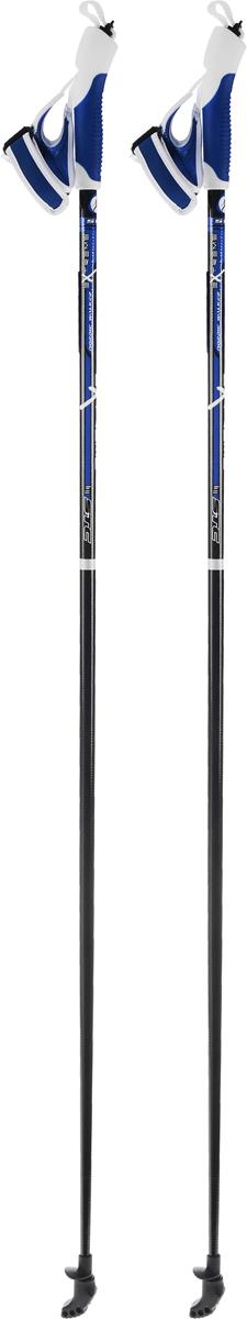 Палки для скандинавской ходьбы STC EXTREME, цвет: синий, черный, белый, длина 120 смEXTREME 120Палки для скандинавской ходьбы STC Extreme обладают отличным запасом прочности, благодаря эргономичным свойствам стеклопластика. Специальный усиленный наконечник и резиновый башмачок придают надежности и долговечности при активном использовании этих палок на абсолютно любых поверхностях и в любое время года. Текстильные петли на ручках делают эксплуатацию более удобной.