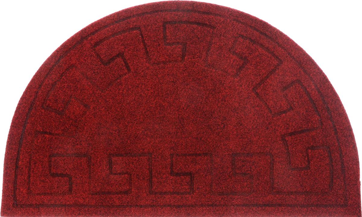 Коврик придверный EFCO Оскар. Геометрический узор, цвет красный, 65 х 40 см блендер bosch msm 87140