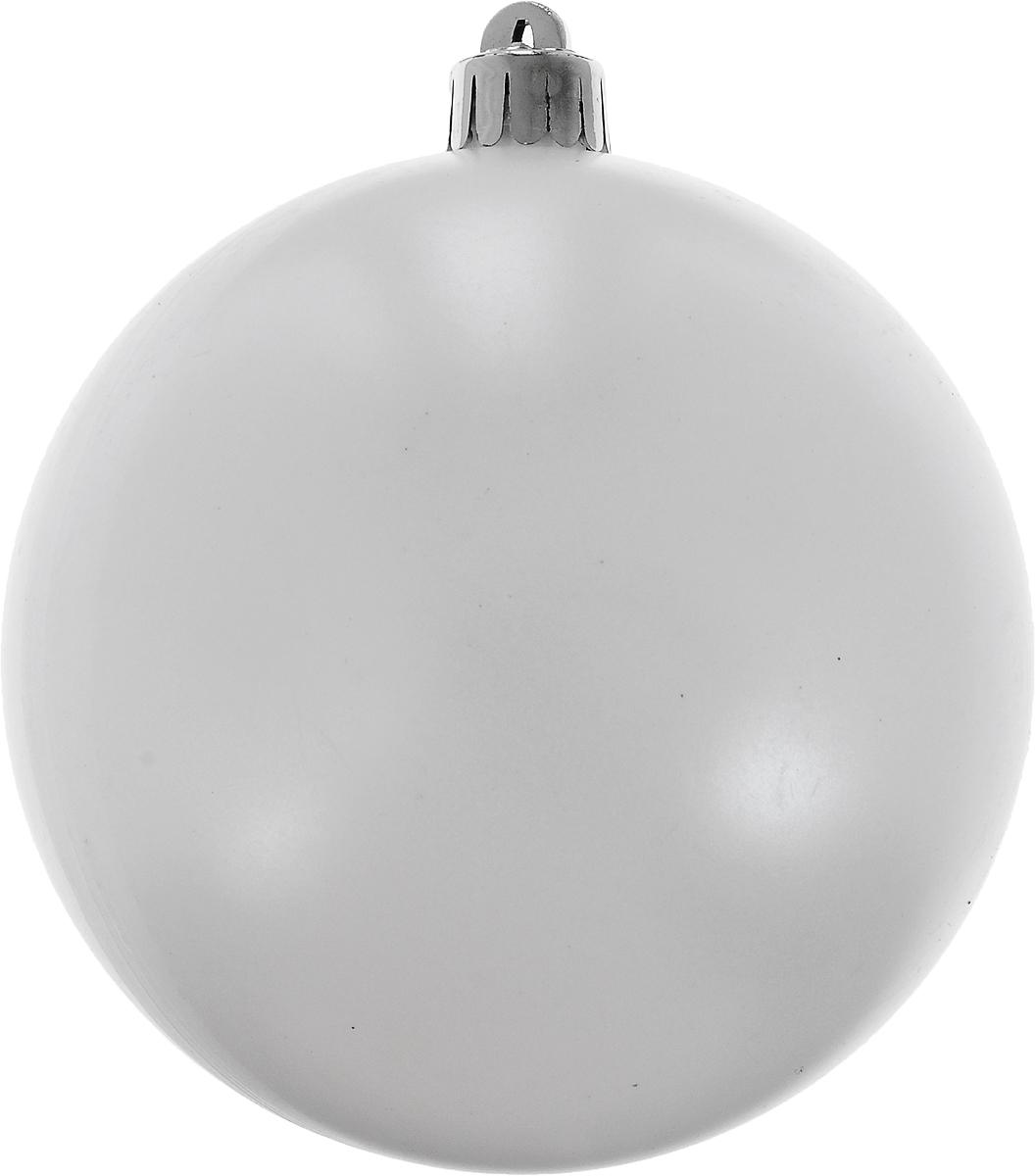 Украшение новогоднее подвесное Winter Wings Шар. Белый жемчуг, диаметр 10 смN069303Новогоднее подвесное украшение Winter Wings Шар. Белый жемчуг выполнено из пластика в виде шара. С помощью специальной петельки украшение можно повесить в любом понравившемся вам месте. Но, конечно, удачнее всего оно будет смотреться на праздничной елке.Елочная игрушка - символ Нового года. Она несет в себе волшебство и красоту праздника. Создайте в своем доме атмосферу веселья и радости, украшая новогоднюю елку нарядными игрушками, которые будут из года в год накапливать теплоту воспоминаний.