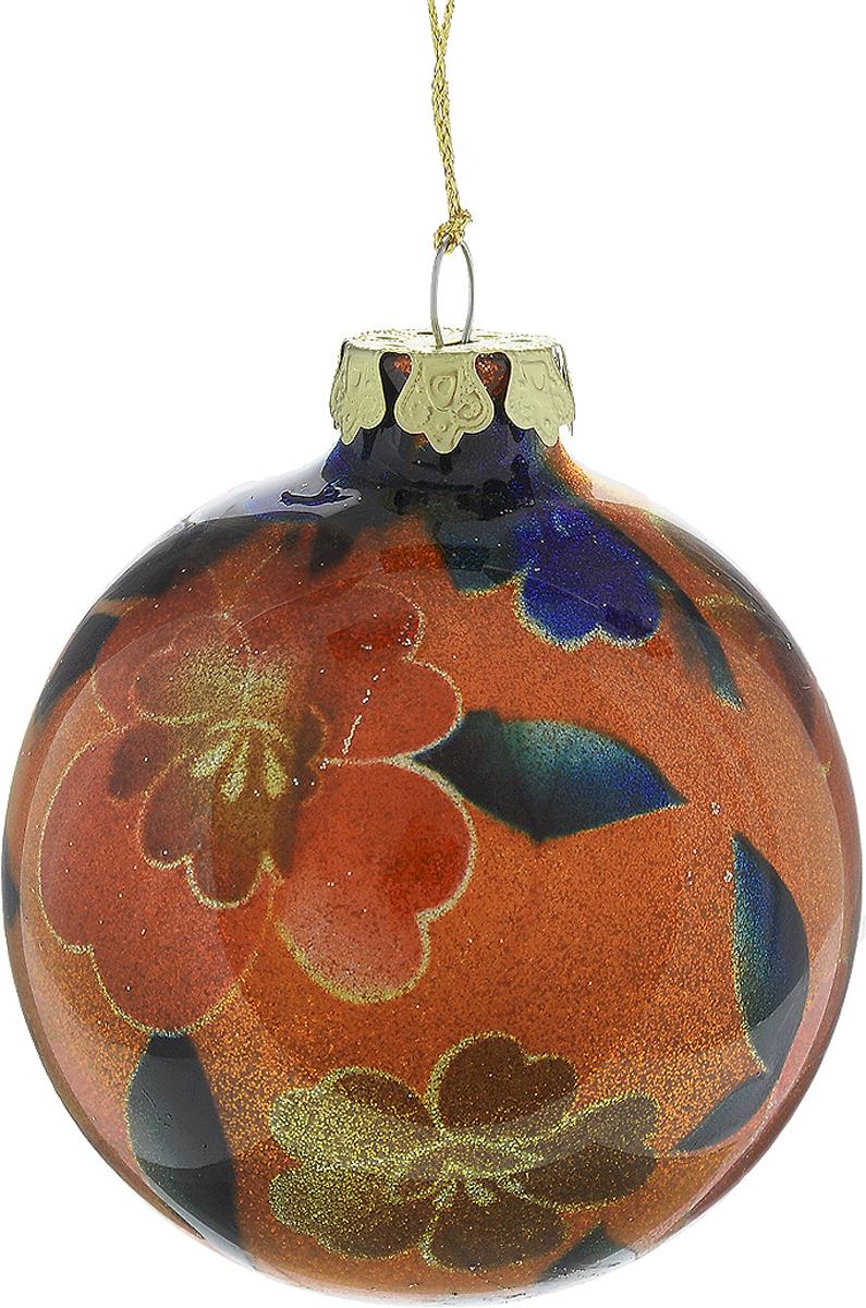 Украшение новогоднее подвесное Winter Wings Шар, диаметр 8 см. N07917N07917Новогоднее подвесное украшение Winter Wings Шар выполнено из стекла в виде шара и украшено блестками. С помощью специальной петельки украшение можно повесить в любом понравившемся вам месте. Но, конечно, удачнее всего оно будет смотреться на праздничной елке.Елочная игрушка - символ Нового года. Она несет в себе волшебство и красоту праздника. Создайте в своем доме атмосферу веселья и радости, украшая новогоднюю елку нарядными игрушками, которые будут из года в год накапливать теплоту воспоминаний.