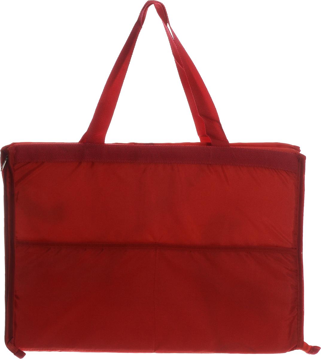 Сумка-коврик для пикника Eva Роза, 52 х 38 смК37_красныйСумка-коврик Eva изготовлена из хлопка, полиэстера, наполнитель - пенополиэтилен. Вместительная сумка на молнии одним движение превращается в удобный пляжный коврик для загорания. Для отдыха на пляже или пикника будет полезной такая вещь, как сумка-коврик. Изделие сделает ваш отдых комфортным и приятным. Размер сумки-коврика (в сложенном виде): 52 х 38 см.Размер сумки-коврика (в развернутом виде): 145 х 52 см.