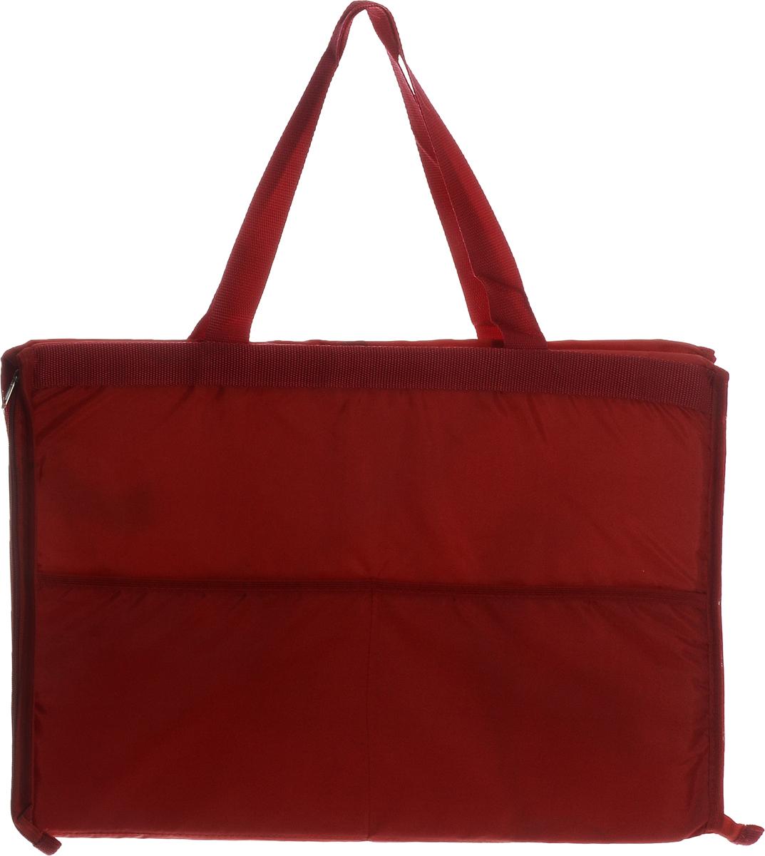 Сумка-коврик для пикника Eva, цвет: бордовый, 52 х 38 см. К37К37_бордовыйСумка-коврик Eva изготовлена из хлопка, полиэстера, наполнитель - пенополиэтилен. Вместительная сумка на молнии одним движение превращается в удобный пляжный коврик для загорания. Для отдыха на пляже или пикника будет полезной такая вещь, как сумка-коврик. Изделие сделает ваш отдых комфортным и приятным. Размер сумки-коврика (в сложенном виде): 52 х 38 см.Размер сумки-коврика (в развернутом виде): 145 х 52 см.