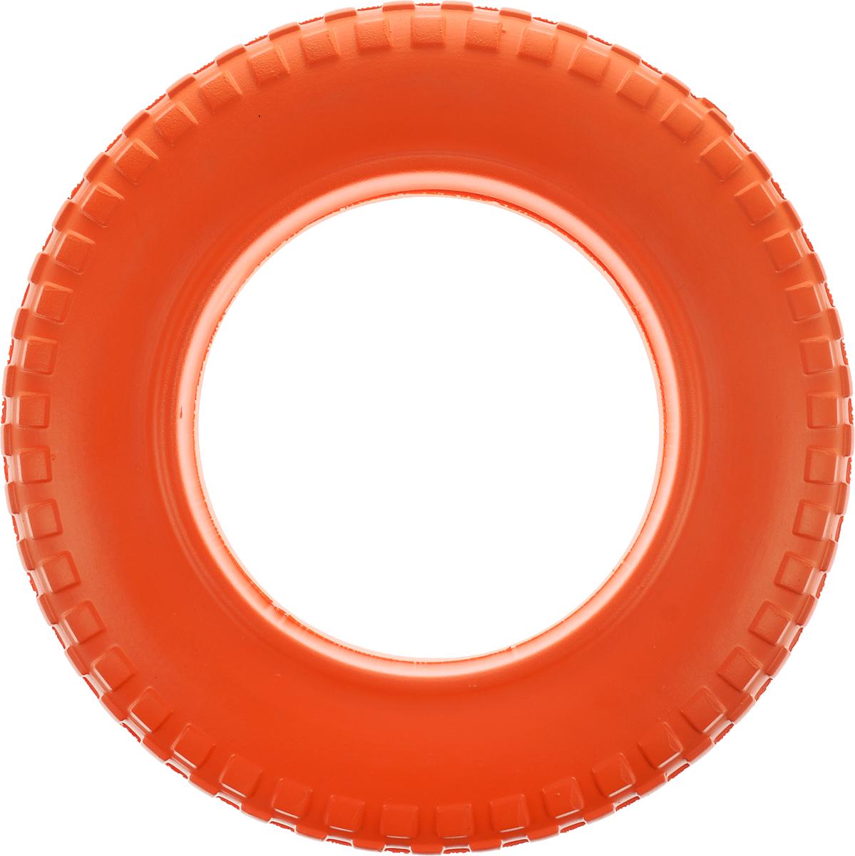 Игрушка для животных Doglike Шинка для колеса. Мега, диаметр 36 смDH 7516Doglike Шинка для колеса. Мега - простая и незамысловатая игрушка для собак, которая способна решить многие проблемы здоровья вашего четвероногого любимца. Если ваш пёс портит мебель, излишне агрессивен, непослушен или страдает излишним весом то, скорее всего, корень всех бед кроется в недостаточной физической и эмоциональной нагрузке. Порадуйте своего питомца прекрасным и качественным подарком.Диаметр игрушки: 36 см.