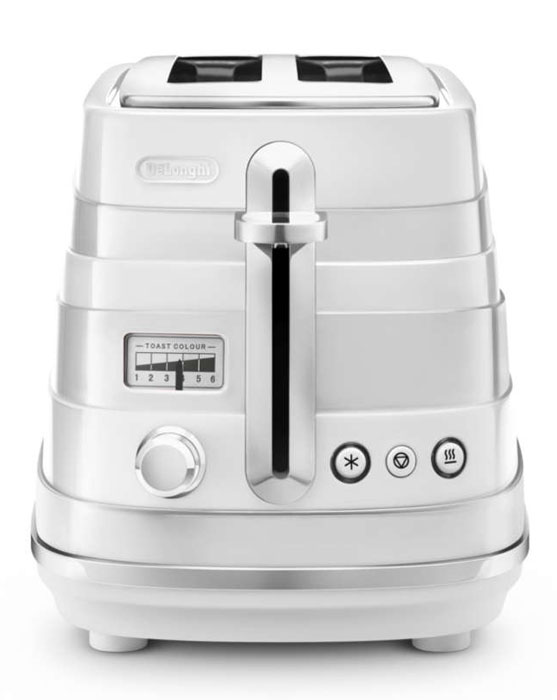 DeLonghi CTA 2103, White тостер