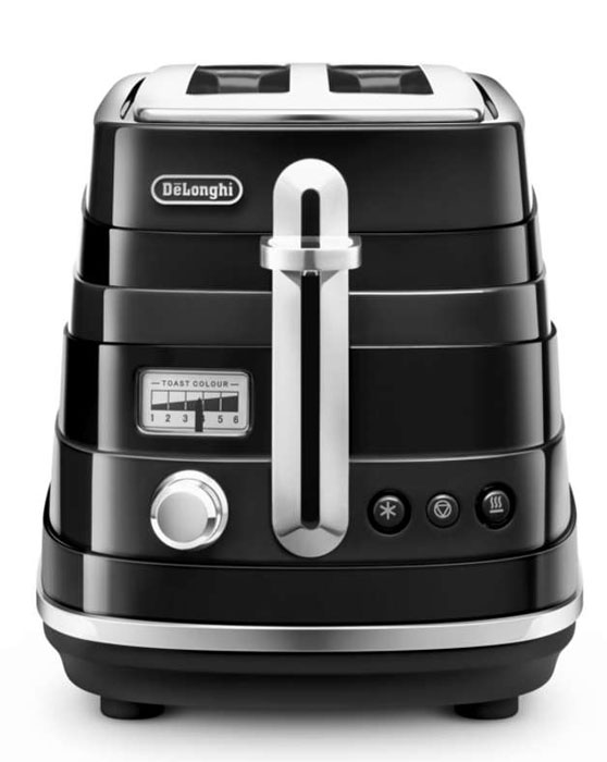 DeLonghi CTA 2103, Black тостер