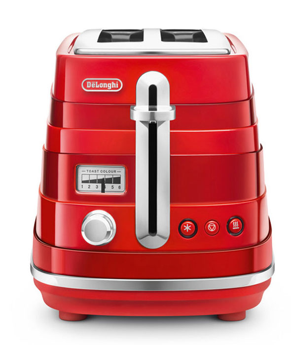 DeLonghi CTA 2103, Red тостер