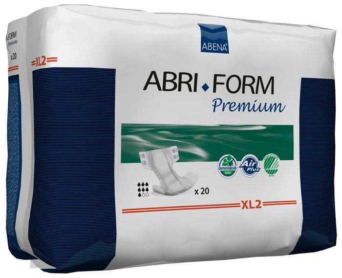 Abena Подгузники для взрослых Abri-Form XL2 ночные+ 20 шт 4306943069Подгузники для взрослых Abri-Form Premium, XL2, ночные+ - классические подгузники для взрослых (лежачих или малоподвижных людей послеопераций) со средней и тяжелой формой недержания мочи и кала. Качество каждого подгузника проверено электроникой. Abri-Form Premium - это полная линейка премиум подгузников для взрослых с умеренной и тяжелой формами недержания. Отличия Abri-Form Premium от других подгузников: - 3 степени защиты от протеканий (уникальные впитывающие каналы, 6 слоев, высокие бортики, направленные внутрь подгузника) - имеет дополнительную защиту от протеканий со спины (первые в России подгузники с кармашком, задерживающим жидкость) - мягкие тянущиеся боковинки не оставляют следов на бедрах, в отличие от обычной резинки - жидкость превращается в гель и не может вытечь7 дополнительных преимуществ: - подгузник полностью дышащий; - задерживает запахи; - быстро впитывает за счет системы Top Dry (Топ Драй) и влагораспределяющих каналов; - выполнен из мягких бесшумных материалов; - имеет сегментированный индикатор намокания; - отмечен экомаркировкой Скандинавии Белый лебедь; - одобрен дерматологическим контролем - впитываемость: более 3400 мл