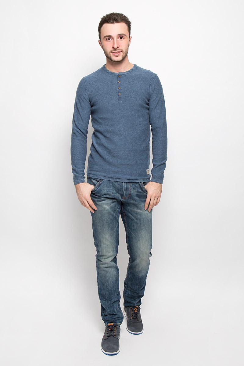 Джемпер мужской Tom Tailor Denim, цвет: синий. 3022104.01.12_6748. Размер XL (52) джемпер мужской tom tailor denim цвет бордовый 3022104 01 12 4257 размер xl 52