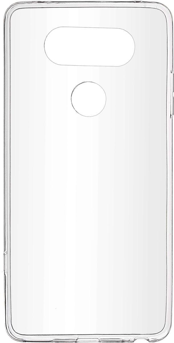 цены Skinbox Slim Silicone чехол-накладка для LG V20, Crystal