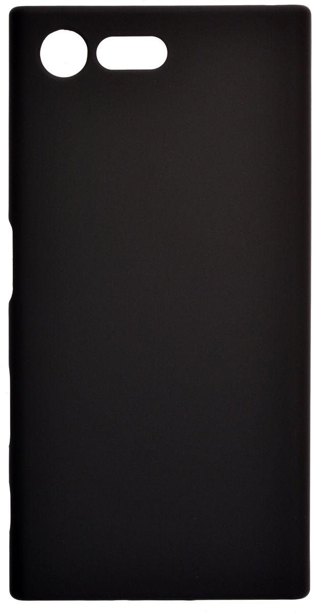 Skinbox 4People чехол-накладка для Sony Xperia X Compact + защитная пленка, Black стоимость