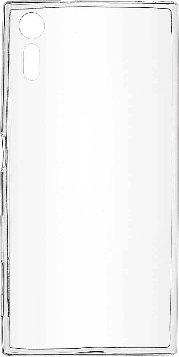 Skinbox Slim Silicone чехол-накладка для Sony Xperia XZ, Crystal чехол sony touch cover white для xperia xz