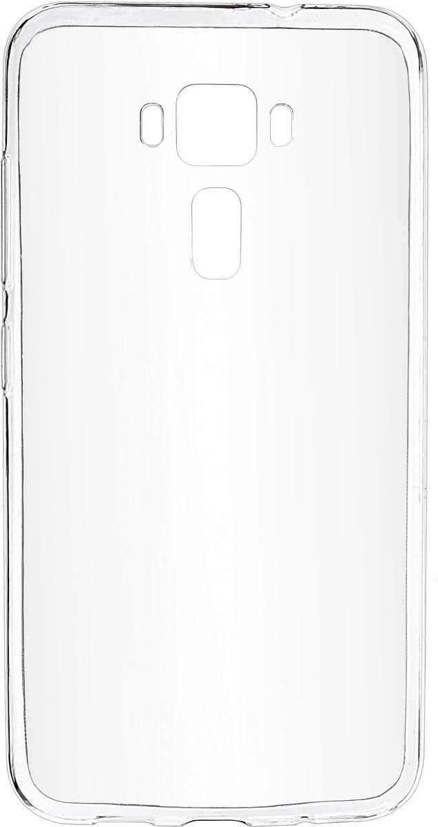 Skinbox Slim Silicone чехол-накладка для Asus Zenfone 3 ZE520KL, Crystal чехлы для телефонов skinbox накладка для asus zenfone 3 ze520kl skinbox серия 4people защитная пленка в комплекте
