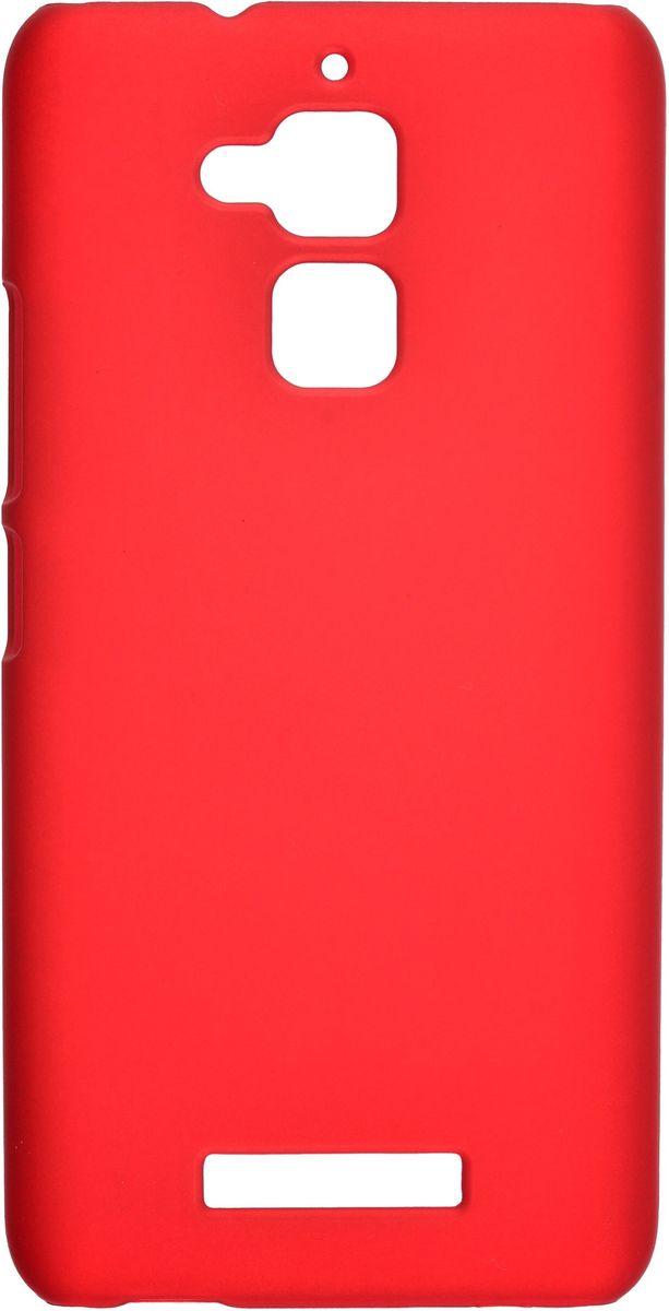 Skinbox 4People чехол-накладка для Asus Zenfone 3 Max (ZC520TL) + защитная пленка, Red ainy ze500cl защитная пленка для asus zenfone 2 матовая page 4