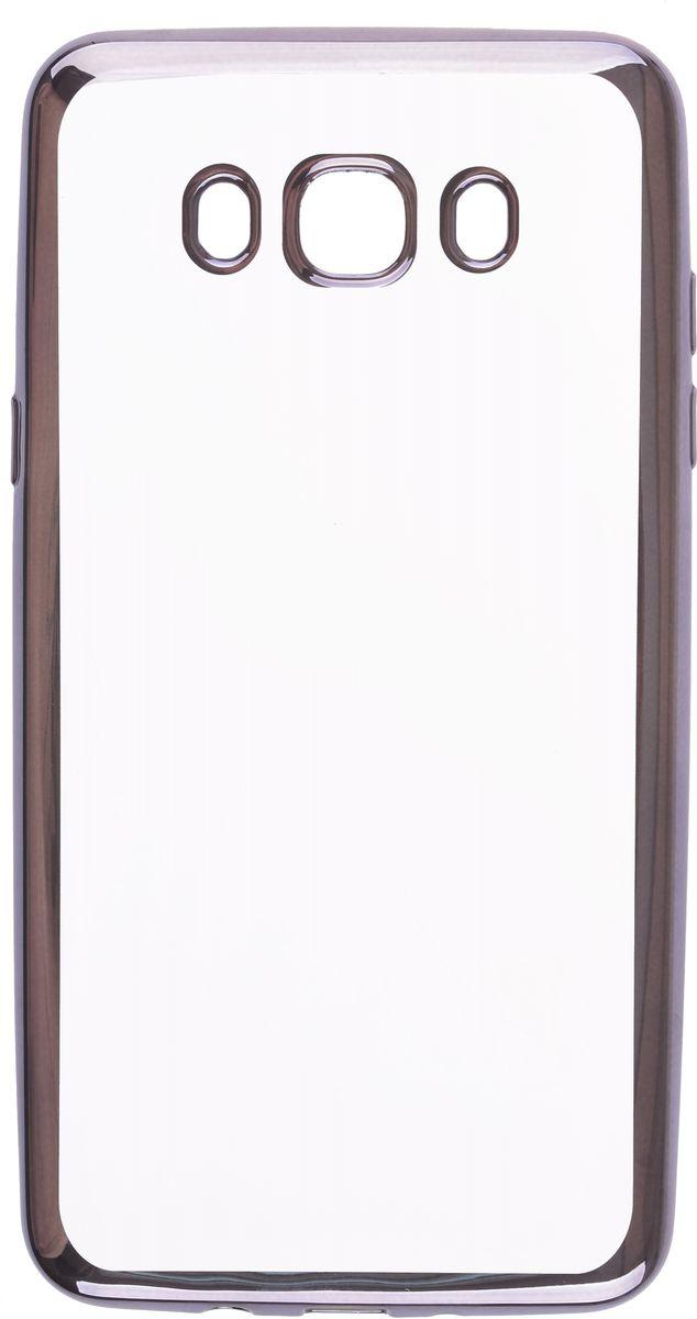 Skinbox 4People Silicone Chrome Border чехол-накладка для Samsung Galaxy J7 (2016), Dark Silver2000000105697Чехол-накладка Skinbox 4People Silicone Chrome Border для Samsung Galaxy J7 (2016) обеспечивает надежную защиту корпуса смартфона от механических повреждений и надолго сохраняет его привлекательный внешний вид. Накладка выполнена из высококачественного силикона, плотно прилегает и не скользит в руках. Чехол также обеспечивает свободный доступ ко всем разъемам и клавишам устройства.