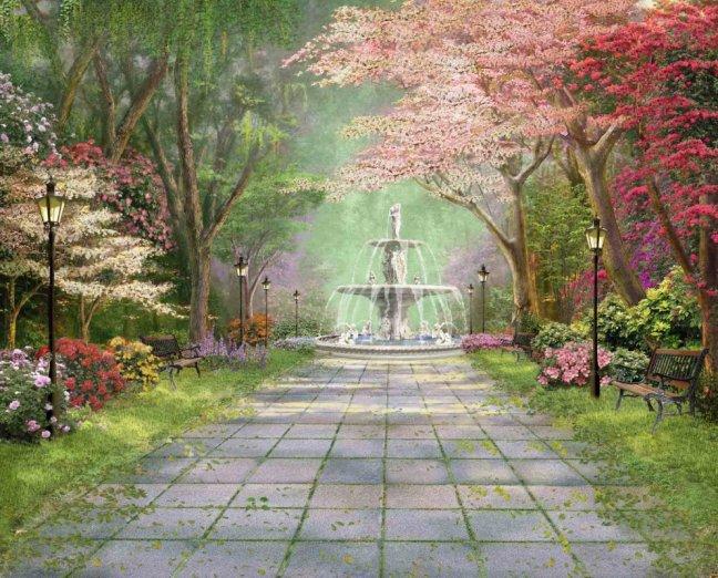 Панно декоративное Твоя Планета Парковая аллея, 315 х 254 см4607161054376