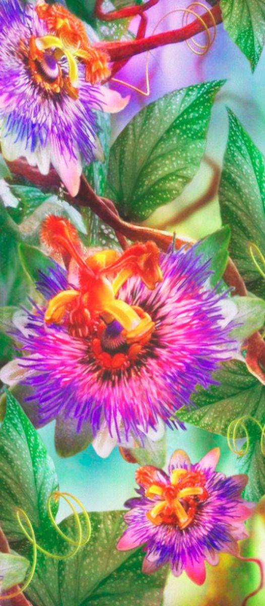 Панно декоративное Твоя Планета Сказочные цветы, 105 х 238 см4607161054925Декоративное настенное панно Твоя Планета станет идеальным украшением загородного дома или рабочего кабинета.Панно выполнено на флизелиновой основе с виниловым покрытием.Такое панно станет изысканным дополнением к интерьеру и подчеркнет аристократичность и безупречное чувство вкуса своего будущего обладателя.