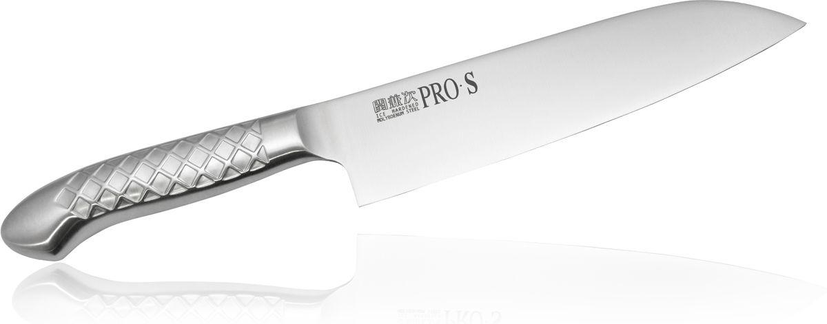 Нож Сантоку Kanetsugu Pro-S, 170 мм5003Нож Kanetsugu Pro-S - профессиональный кухонный нож, выполненный из высококачественной нержавеющей стали, обладающей высокой твердостью и устойчивостью к коррозии. Эргономичный дизайн обеспечивает комфортное использование ножа в течение длительного времени.Правила эксплуатации: - Хранить нож следует в сухом месте. - После использования, промойте нож теплой водой и протрите насухо. - Оставление ножа в загрязненном состоянии может привести к образованию коррозии. Запрещается: - Мыть нож в посудомоечной машине. - Хранить ножи в одной емкости со столовыми приборами. - Резать на твердых поверхностях: каменных столешницах, керамических тарелках, акриловых досках. - Запрещается нецелевое использование ножа: вскрывать консервные банки, разрезать кости, скоблить твердые поверхности, резать замороженные продукты. Правка производится легкими движениями на водном камне или мусате. Заточка ножа - сложный технологический процесс, должен производиться профессионалом на специальном оборудовании. Услуга по заточке ножа предоставляется специалистами компании «Тоджиро». Уважаемые клиенты! В случае несоблюдения правил эксплуатации, нож не подлежит гарантийному обслуживанию.