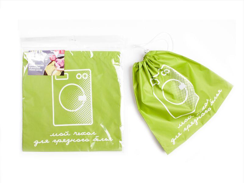 Чехол Paterra для перевозки грязной одежды, с затяжным шнуром, 40 х 40 см409-018Чехол Paterra, выполненный из прочного нейлона, обеспечите наилучший способ хранения и транспортировки грязных вещей, а также полностью исключите контакт между чистой и грязной одеждой в вашем чемодане.Чехол имеет особые усиленные швы, поэтому максимально устойчив к значительным механическим воздействиям. Сверху чехол надежно закрывается при помощи затяжного шнура и карабина.Размер чехла: 40 х 40 см.