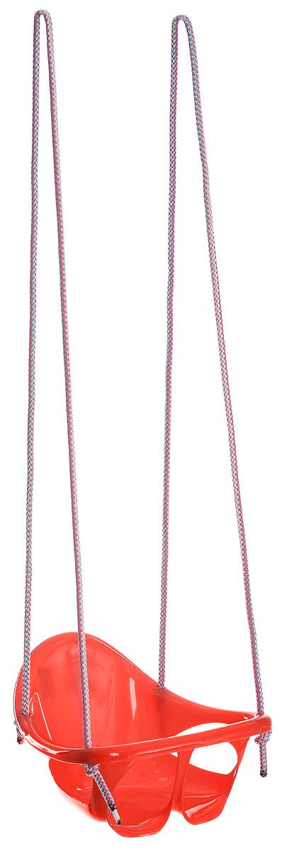 Karolina Toys Качели подвесные цельные цвет красный качели karolina toys качели детские подвесные цельные
