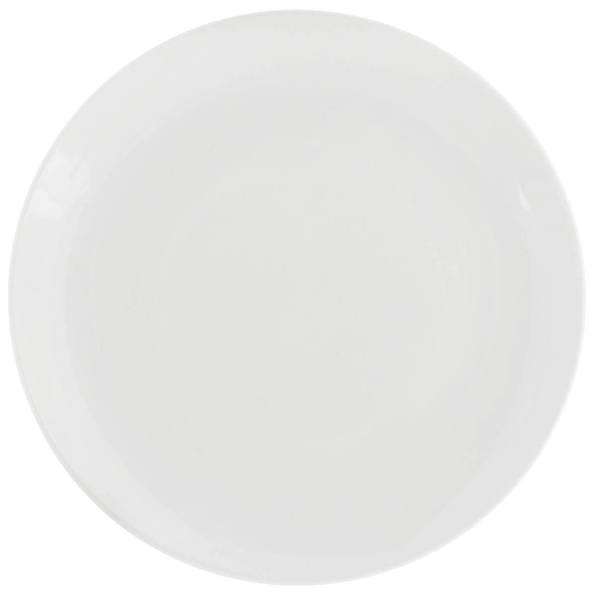 Тарелка десертная Фарфор Вербилок, диаметр 19 см тарелка dazen классика 23см десертная фарфор